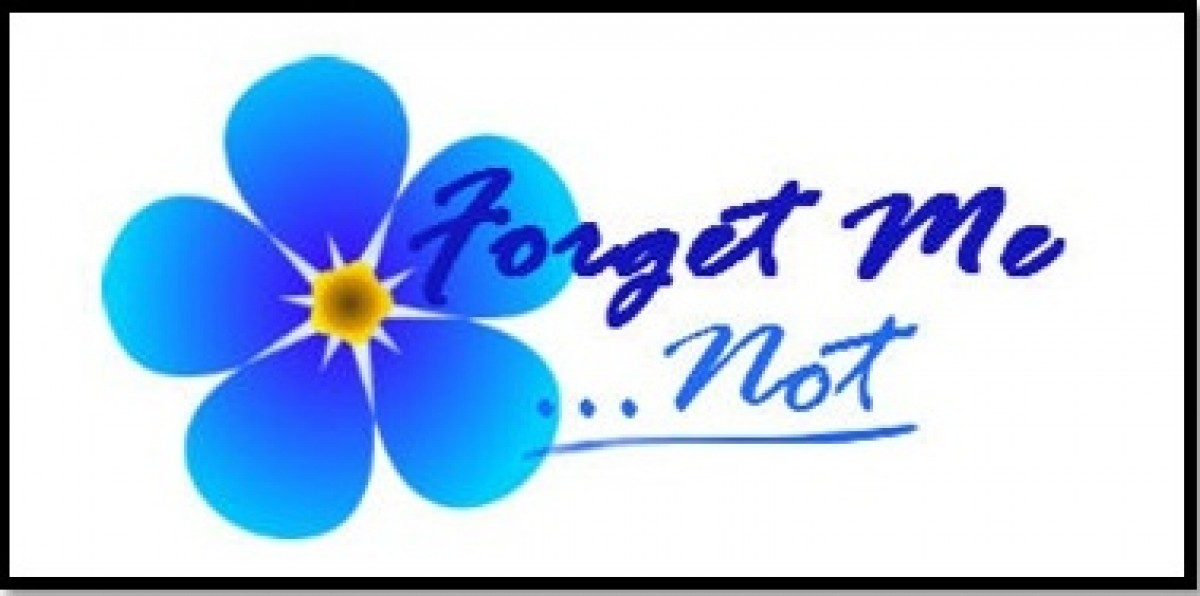 Forget Me Not | Crafts from the Island of Calypso Forget Me Not Logo